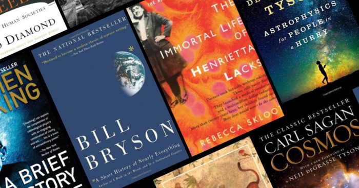 The 20 Highest-Rated Science Books on Goodreads