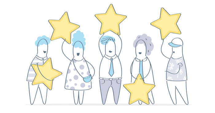 How Books Earn Five-Star Ratings From Readers