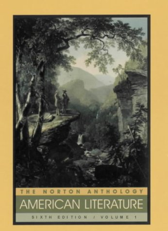The Norton Anthology of American Literature by Judith Tanka