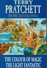 The First Discworld Novels the Colour of Magic and the Light ... by Terry Pratchett