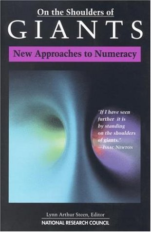 On the Shoulders of Giants:: New Approaches to Numeracy