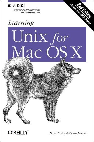 Learning Unix for Mac OS X, 2nd Edition