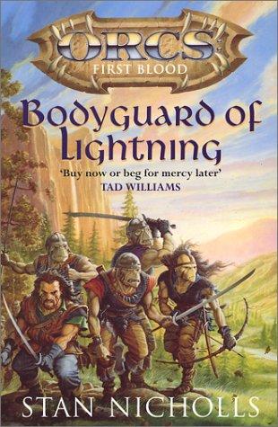 Bodyguard Of Lightning by Stan Nicholls