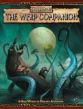 The WFRP Companion (Warhammer Fantasy Roleplay)