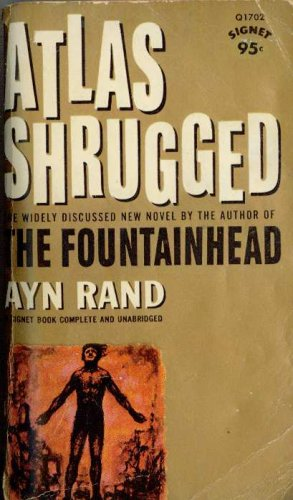 Ayn Rand Book Cover Art : Atlas shrugged by ayn rand — reviews discussion