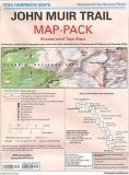 Map Pack Of The John Muir Trail: 13 Six Color, Shaded Relief Topographic Maps Of The John Muir And Pacific Crest Trails Between Mt Whitney And Yosemite Valley