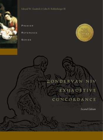 Zondervan NIV Exhaustive Concordance by Anonymous