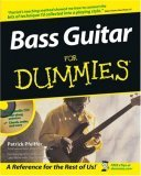Bass Guitar for Dummies [With Audio CD] by Patrick Pfeiffer