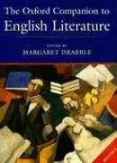 The Oxford Companion to English Literature by Margaret Drabble