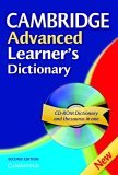 Cambridge Advanced Learner's Dictionary by Elizabeth  Walter