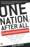 One Nation after All: What Middle Class Americans Really Think About God, Country, Family, Racism, Welfare, Immigration, Homosexuality, Work, The Right, The Left, and Each Other