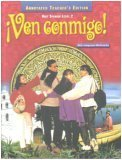 Ven Conmigo! Holt Spanish Level 2 Annotated Teacher's Edition (Holt Spanish Level 2, Level 2)