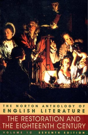 The Norton Anthology of English Literature, Vol. 1C by M.H. Abrams
