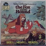 The Fox and the Hound [24 Page Read-Along Book and Record]