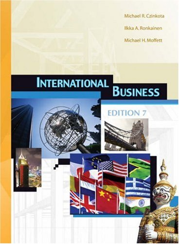 International Business by Michael R. Czinkota