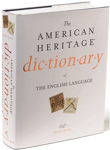 The American Heritage Dictionary of the English Language, Fou... by American Heritage Dictionary
