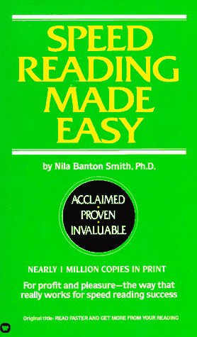 Speed Reading Made Easy by Nila Banton Smith — Reviews, Discussion ...