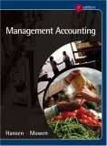 Management Accounting [With Infotrac]