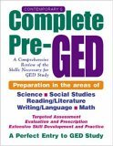 Contemporary's Complete Pre-GED