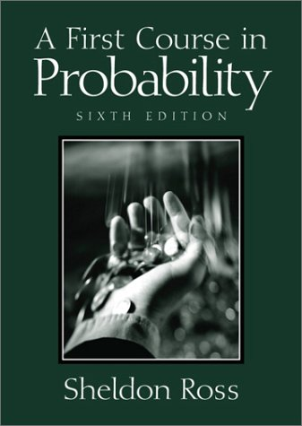 A First Course in Probability [With Disk] by Sheldon M. Ross