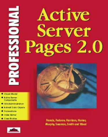 Professional Active Server Pa Ges 2.0