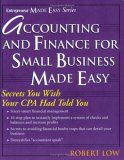 Accounting and Finance for  Small Buisness Made Easy (Entrepreneur Made Easy)