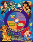 Disney Cd Storybook: The Lion King, The Little Mermaid, Toy Story, Aladdin (4 In 1 Disney Audio Cd Storybooks)