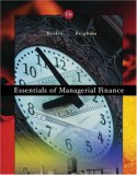 Essentials of Managerial Finance with Thomson One