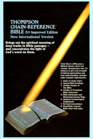 Thompson Chain-Reference Study Bible-NIV-Handy Size by Frank Charles Thompson