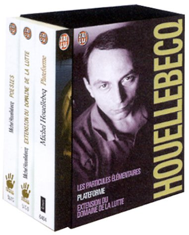 Michel Houellebecq Coffret en 3 volumes by Michel Houellebecq