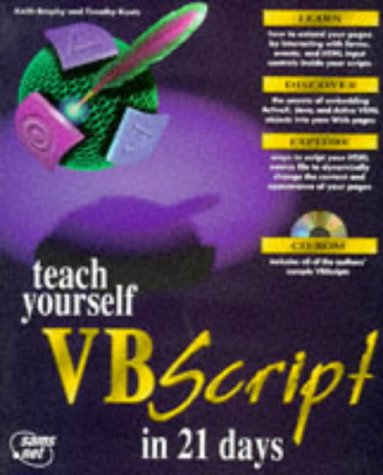 Teach Yourself Vbscript In 21 Days (Teach Yourself by Keith Brophy