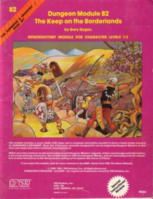 The Keep on the Borderlands by Gary Gygax