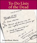 To Do Lists Of The Dead