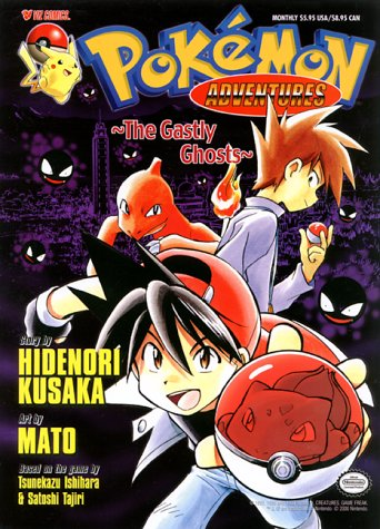 Pokemon Adventures Volume 5: The Ghastly Ghosts