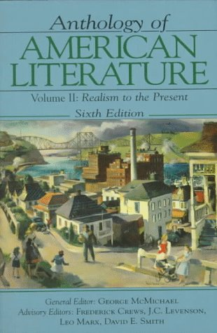 Anthology of American Literature Vol. II by David E. Smith