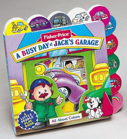 A Busy Day at Jack's Garage by Dina Anastasio