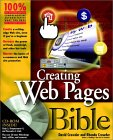 Creating Web Pages Bible [With CDROM]