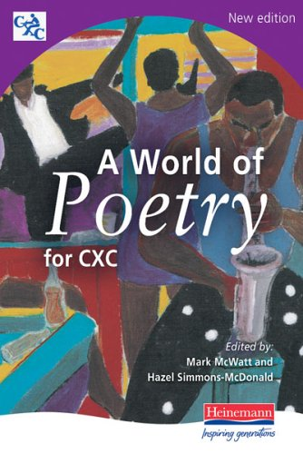 world of poetry for cxc The world is charged with the grandeur of god it will flame out, like shining from shook foil it gathers to a greatness, like the ooze of oil crushed why do men then now not reck his rod generations have trod, have trod, have trod and all is seared with trade bleared, smeared with toil and wears man's smudge and shares.