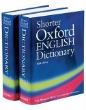 Shorter Oxford English Dictionary, 2 Vols