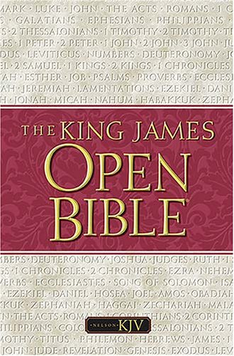 The King James Open Bible by Anonymous