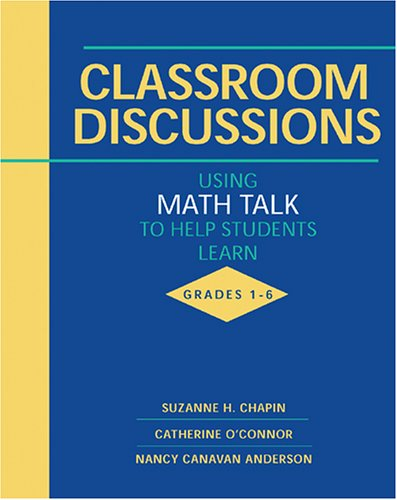 Classroom Discussions by Suzanne H. Chapin