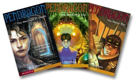 The Pendragon Series (The Merchant of Death, The Lost City of Faar, The Never War and The Pendragon Journal) (Pendragon, #1-3)