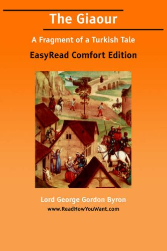 The Giaour by George Gordon Byron