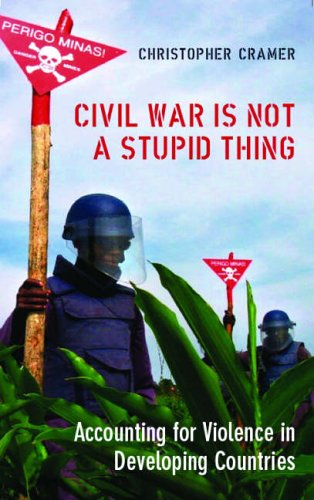 Civil War Is Not A Stupid Thing: Accounting For Violence In Developing Countries