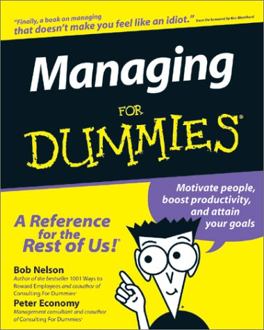 Managing For Dummies®