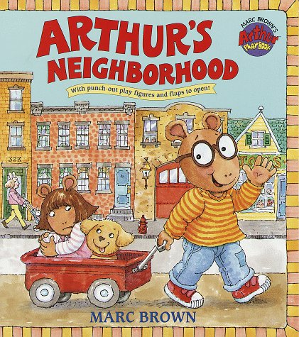 Arthur's Neighborhood (Great Big Board Book)