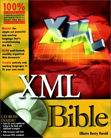 XML Bible [With CD-ROM] by Elliotte Rusty Harold
