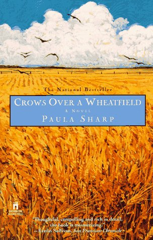 Crows Over a Wheatfield by Paula Sharp