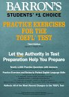 Barron's Practice Exercises for the TOEFL Test