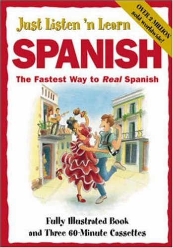 Just Listen 'n Learn Spanish [With Paperback]